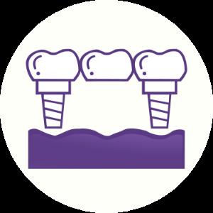 implant Bridge Icon Dental House Melton